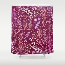 Wild-flowery Meadow Shower Curtain