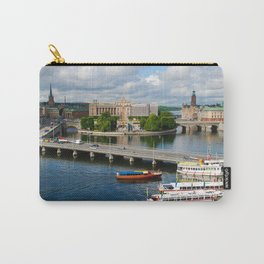 Riddarholmen Island Stockholm Sweden Cityscape Carry-All Pouch