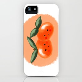 Clementines In Love iPhone Case