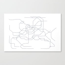 Seoul Subway Canvas Print