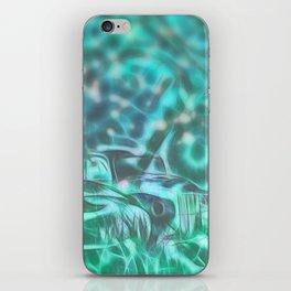 Underwater wreck iPhone Skin