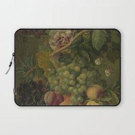 Still Life with Flowers and Fruits, Albertus Jonas Brandt (1816 - 1817) Laptop Sleeve