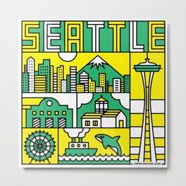Seattle, Washington Metal Print