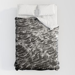 Sand Pattern Craters  Comforters