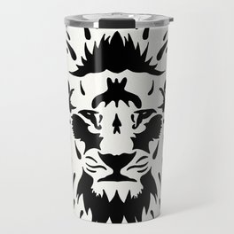 Tribal Lion Travel Mug