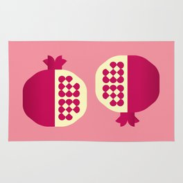 Fruit: Pomegranate Rug
