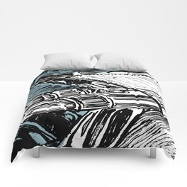 CADILLAC TAIL FIN Comforters