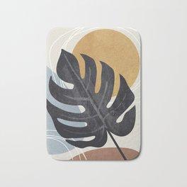 Abstract Tropical Art I Bath Mat