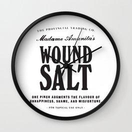 Wound Salt Wall Clock