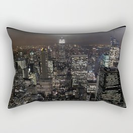 New York Souvenir Rectangular Pillow