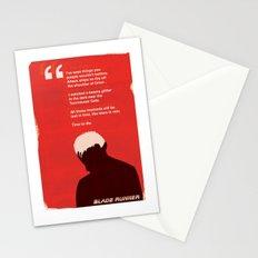 BLADE RUNNER TEARS IN RAIN Stationery Cards