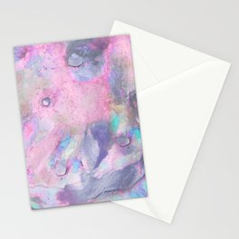 Soft Color Mermaid Style Stationery Cards