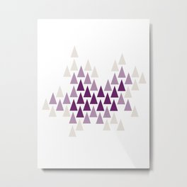 Amethyst Forest by Seasons K Designs Metal Print