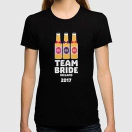 Team Bride Ireland 2017 T-Shirt Dht09 T-shirt