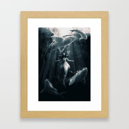 Hello my old friends Framed Art Print