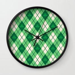 Irish Argyle Wall Clock