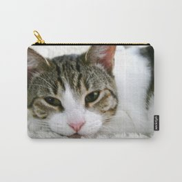 Kloeh the rescued cat Carry-All Pouch