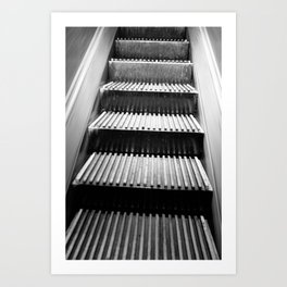 escalator of Macy's NYC Art Print