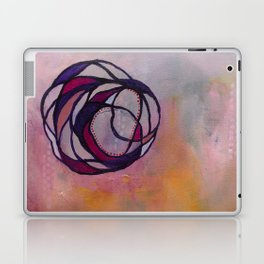 Pink Spiral Laptop & iPad Skin