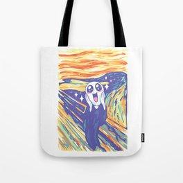 Kawaii Scream Tote Bag