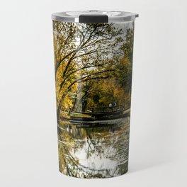 Autumn on the Canal Travel Mug