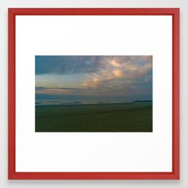Early Morning on Tybee Island Framed Art Print