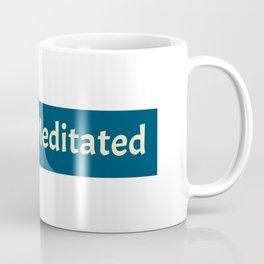 meditation t shirt Coffee Mug