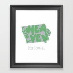 Is This Heaven? Framed Art Print