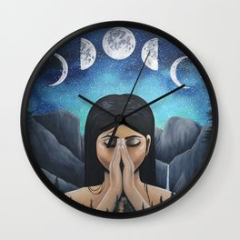 Rhythmic Bodies Wall Clock