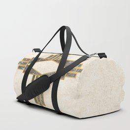 Luxurious gold and marble Duffle Bag