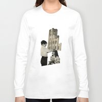 crown Long Sleeve T-shirts featuring Crown by Richard Vergez
