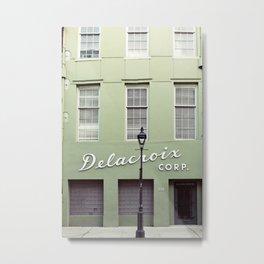 New Orleans Delacroix Building Metal Print