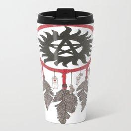 Supernatural  Anti-Possession Dreams Travel Mug