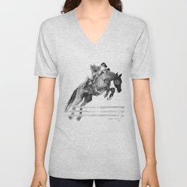 Horse (Jumper) Unisex V-Neck