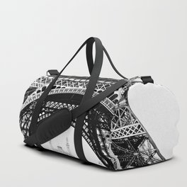 Vintage Eiffel Tower Photograph Duffle Bag