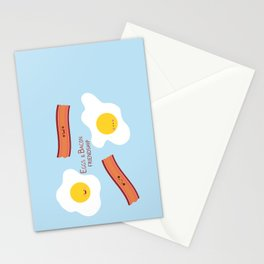 Eggs & Bacon Friendship Stationery Cards