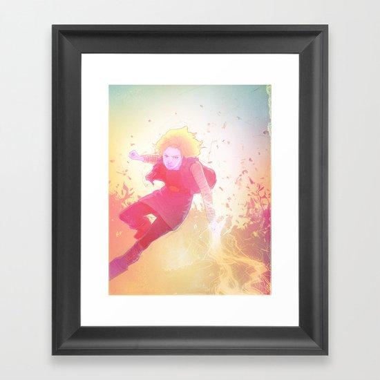 18 Framed Art Print