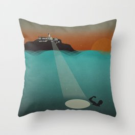 Filligar - Du Nord - San Francisco Throw Pillow
