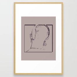 Such A Pretty Thing. Framed Art Print