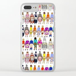 First Lady Butts Clear iPhone Case