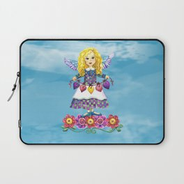 Angel Love (Turquoise) Laptop Sleeve