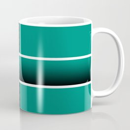 Team Colors 6...Teal, black Coffee Mug