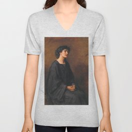 John Everett Millais - A Disciple Unisex V-Neck