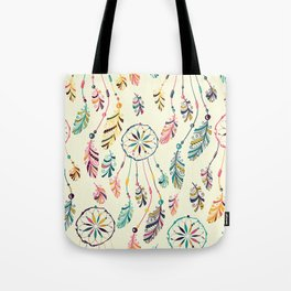 Boho Dreamcatcher Pattern Tote Bag