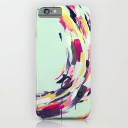 Life Aquatic - Abstract painting by Jen Sievers iPhone Case