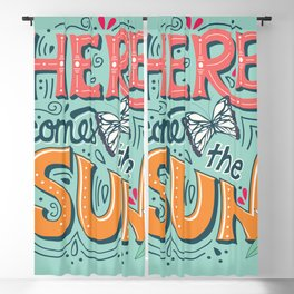 Here Comes The Sun 001 Blackout Curtain