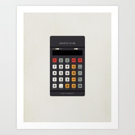 "Vintage Calculator Series: ""Aristo M 85"" Art Print"