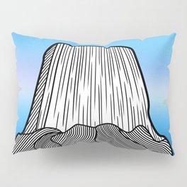 Devils Tower Pillow Sham