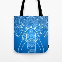 Serious Elephant Two Tote Bag