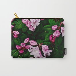 Spring Pink Rhododendron Carry-All Pouch
